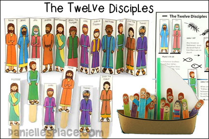 The Twelve Disciples Bible Lesson