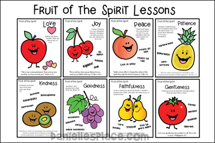 Fruit of the Spirit Lesson Series