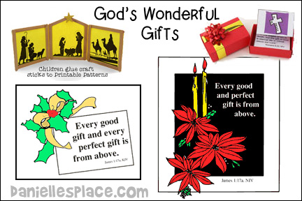 God's Wonderful Gifts Bible Lesson