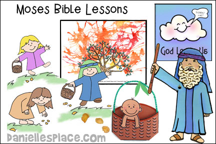 Moses Bible Lessons