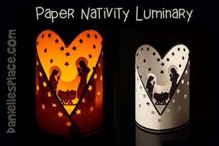 Nativity Luminary