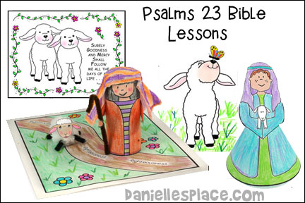 Psalms 23 Bible Lessons