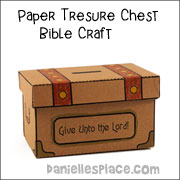 Paper Chest Coin Collection Craft