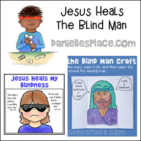 Jesus Heals the Blind Man Bible Lesson