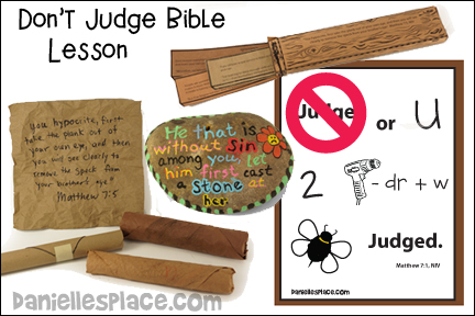 Don't Judge or you will be Judged Bible Lesson