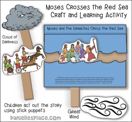 Moses Crossing the Red Sea Craft