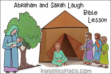 Abraham and Sarah Laugh Bible Lesson