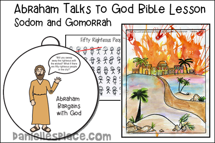 Abraham Talks to God About Sodom and Gomorrah Bible Lesson
