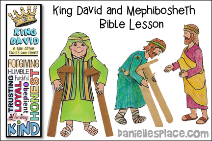 David and Mephibosheth Bible Lesson