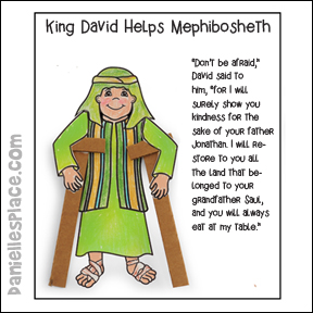 Mephiboseth Activity Sheet