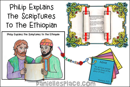 Philip and the Ethiopian Bible Lesson
