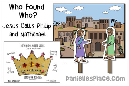 Who Found Who? Jesus finds Philip and Nathanael Bible Lesson