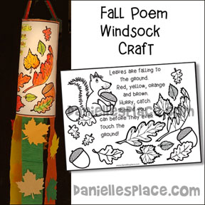 Fall Windsock Craft