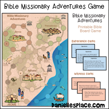 Bible Missionary Game