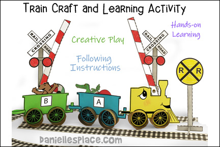 Train Craft and Learning Activity