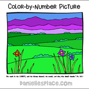 Color by Number Picture