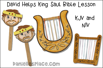 David Helps King Saul Bible Lesson for Children's Ministry