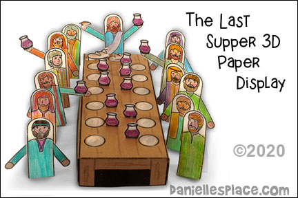 The Last Supper 3D Display