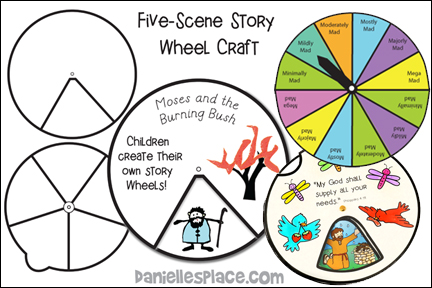 Story Wheel Game Template