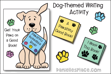 Get Your Paws on a Good Book Learning Activity